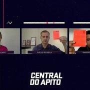 Analistas da Central do Apito são unânimes em apontar três erros contra o Botafogo em jogo diante do Brasil-RS