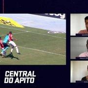 'Central do Apito' cita pênalti não marcado para o Botafogo e faz análise do VAR na Série B: 'Primeira rodada trágica'