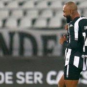 Com 13 jogos, Chay está a 3 gols de alcançar marca de Matheus Babi pelo Botafogo em 2020