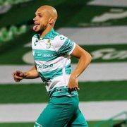 Ex-Botafogo, Dória renova com Santos Laguna e projeta naturalizar-se para jogar na seleção do México
