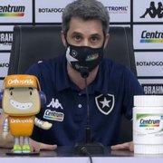 Freeland expõe indignação do Botafogo com novos erros e critica postura da arbitragem: 'Destrataram nossos profissionais'