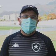 Enderson vê Botafogo em 'fase de crescimento' e confia em grande resultado contra o Coritiba: 'Estamos preparados'