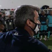 Freeland faz discurso antes de vitória do Botafogo na Série B e motiva jogadores: 'A gente vai subir!'