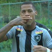 Com dois de Gabriel Conceição, Botafogo vence Internacional de virada e sobe na tabela do Brasileiro Sub-20