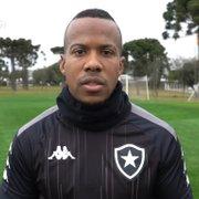 Guilherme Santos deixa o Botafogo com 39 jogos e nenhum gol marcado em dois anos