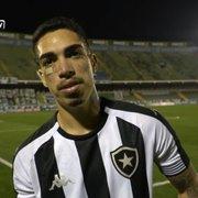 Hugo detalha lançamento no primeiro gol do Botafogo e valoriza empate: 'Importante pontuar fora'