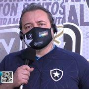 CEO do Botafogo trata CT como fundamental e atualiza status; clube quer mais receita em shopping