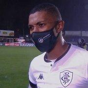 Kanu lamenta derrota do Botafogo para o Operário: 'Saímos decepcionados'