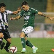 Comentarista, sobre empate do Botafogo com Guarani: 'Gera frustração, mas dentro do contexto não foi um resultado ruim'