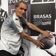 Ídolo do Botafogo, ex-goleiro Manga faz visita surpresa ao Estádio Nilton Santos