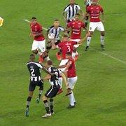 Dois pênaltis para o Botafogo e uma não expulsão…E a TV preocupada com a barreira