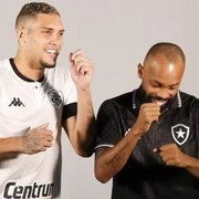 Chay e Rafael Navarro são peças fundamentais para o acesso do Botafogo à Série A