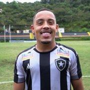 Emprestado ao Botafogo, Rikelmi quase faz gol de placa em vitória do sub-20: 'Gosto de ir para cima'