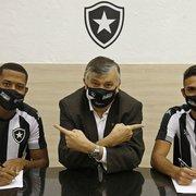 Botafogo anuncia renovações com Gabriel Conceição e Juninho, destaques do sub-20, até 2024
