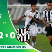 VÍDEO: Gols e melhores momentos da vitória do Botafogo sobre a Ponte Preta