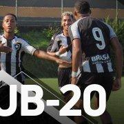 VÍDEO: Botafogo TV divulga bastidores da vitória do sub-20 sobre o Resende pelas quartas de final do Carioca