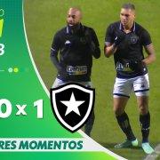 VÍDEO: Gol e melhores momentos da vitória do Botafogo sobre o Coritiba no Couto Pereira