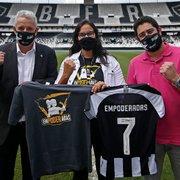Empoderadas: funcionárias do Botafogo participam de palestra sobre segurança feminina