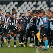 Chances de Botafogo conquistar acesso sobem para 86% após oitava vitória seguida em casa
