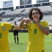 Matheus Nascimento, do Botafogo, é convocado para a Seleção Brasileira Sub-18