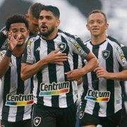 Com vitória sobre o Londrina, Botafogo passa a ter o melhor ataque da Série B, ao lado do Guarani