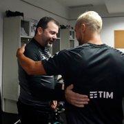 Enderson revela que Rafael inicia treinos com bola no Botafogo esta semana: 'Está evoluindo muito rapidamente'