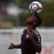 Escalação do Botafogo: Jonathan Silva e Warley devem ser titulares contra o CRB