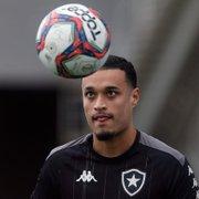 Luiz Henrique celebra adaptação no Botafogo e projeta jogo com Náutico: 'Confio que faremos grande partida'