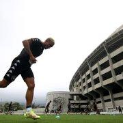 Rafael tem lesão no joelho e desfalca o Botafogo contra o CRB; clube explica