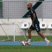 Chay, após derrota do Botafogo: 'Dias ruins também passam. Domingo temos mais uma oportunidade de mostrarmos que somos'
