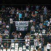 Volta da torcida do Botafogo ao Nilton Santos é marcada por protocolo seguro e acesso tranquilo