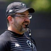 Enderson 'completa' um turno no Botafogo com números de campeão; aproveitamento seria suficiente para já ter subido