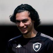 Perfil põe Matheus Nascimento, joia do Botafogo, na mira do Feyenoord
