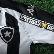 Botafogo anuncia patrocínio da EstrelaBET para as mangas; marca estará no espaço master em dois jogos