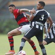 Botafogo perde para o Flamengo no primeiro jogo das semifinais do Carioca Sub-20