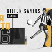 Nova linha de produtos: Botafogo e Braziline lançam camisa especial de Nilton Santos