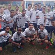 Base: equipes Sub-17 e Sub-15 do Botafogo vencem o Volta Redonda pelo Carioca