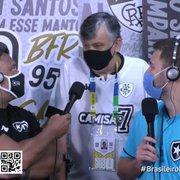 Durcesio Mello prevê mais do que dobrar folha com Botafogo na Série A e fala em 'cartada' por Navarro