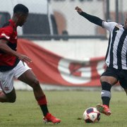 Botafogo perde para o Flamengo sob chuva na Gávea e é eliminado nas semifinais do Carioca Sub-20
