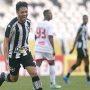 Luís Oyama é alvo de clubes da Série A; 'Está muito feliz no Botafogo', diz agente
