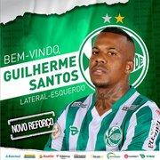 Após deixar o Botafogo, Guilherme Santos é oficializado como novo reforço do Juventude