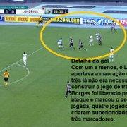 Análise: Botafogo se impõe, transforma controle em gols e atropela o Londrina