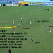 Análise: sem sustos, Botafogo joga o necessário para vencer o Sampaio Corrêa na estreia de Rafael