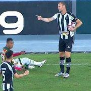 Fundamental! Joel Carli lidera Botafogo em campo contra o Sampaio Corrêa