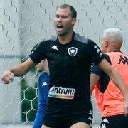 Com edema ósseo, Joel Carli desfalca Botafogo contra CSA e não deve enfrentar Sampaio Corrêa