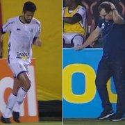 Erros de passe de Jonathan Lemos e insatisfação de Enderson com Botafogo são destacados pela TV: 'Assim não dá'