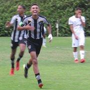Sob a batuta de Juninho, Botafogo vence Atlético-MG e sobe para a quinta colocação no Brasileiro Sub-20