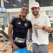 Kanu enaltece Diego Cavalieri, de saída do Botafogo: 'Tudo que conquistou não foi por acaso'
