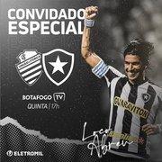 Ídolo, Loco Abreu participará do pré-jogo da Botafogo TV contra o CSA