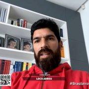 Loco Abreu revela chance de jogo festivo com Túlio Maravilha e mantém sonho de treinar Botafogo no futuro